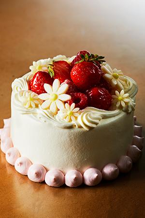 ケーキ店頭受取予約
